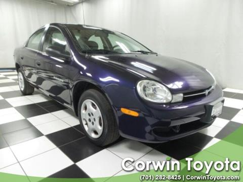 2000 Dodge Neon for sale in Fargo, ND