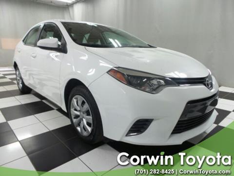 2016 Toyota Corolla for sale in Fargo, ND