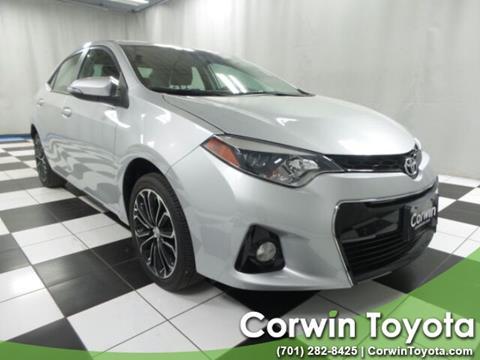 2015 Toyota Corolla for sale in Fargo, ND