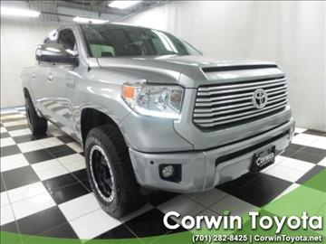 2014 Toyota Tundra for sale in Fargo, ND
