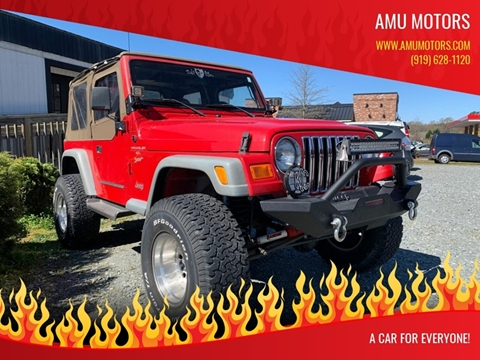 2000 Jeep Wrangler for sale in Garner, NC