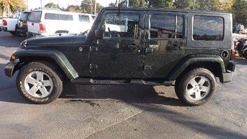 2010 Jeep Wrangler Unlimited for sale in Saginaw, MI