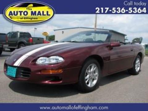 2002 Chevrolet Camaro for sale in Effingham, IL