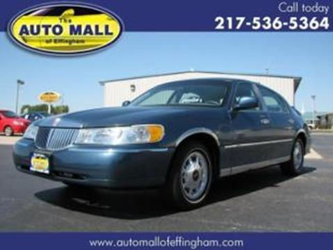2001 Lincoln Town Car for sale in Effingham, IL
