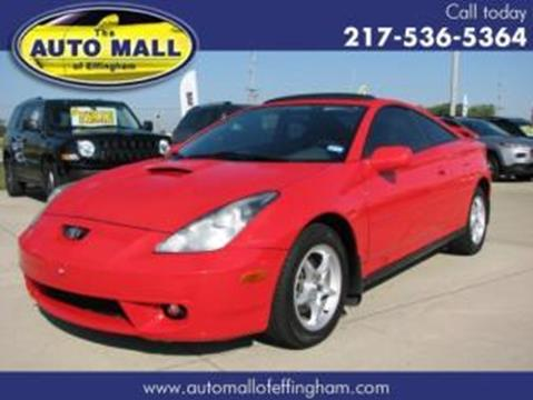 2002 Toyota Celica for sale in Effingham, IL