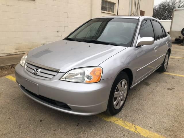 2003 Honda Civic For Sale At A Plus Motor Co. In Haltom City TX