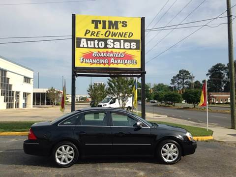 2005 Ford Five Hundred & Used Cars Rocky Mount Auto Financing Battleboro NC Elm City NC ... markmcfarlin.com