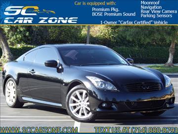 2014 Infiniti Q60 Coupe for sale in Costa Mesa, CA