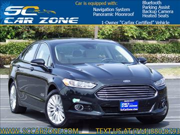 2014 Ford Fusion Energi for sale in Costa Mesa, CA