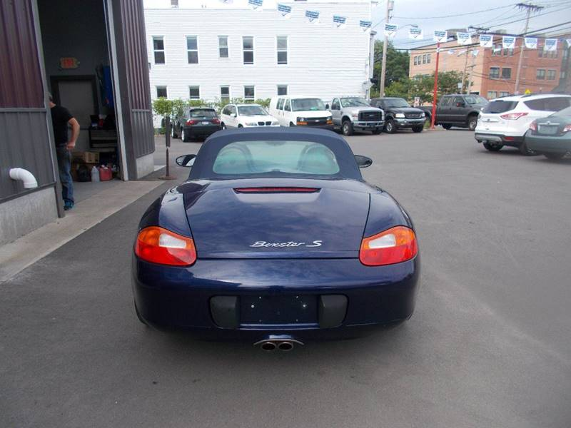 2001 Porsche Boxster for sale at Mig Auto Sales Inc in Albany NY