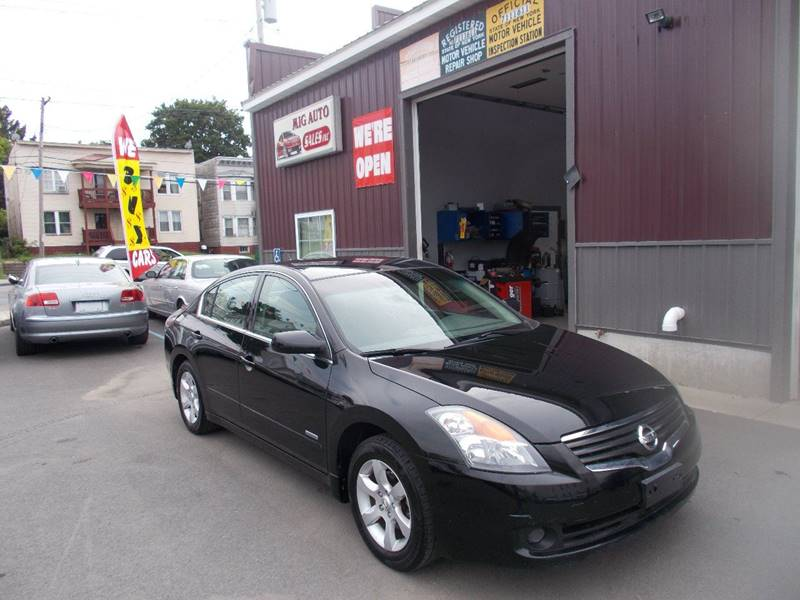 2009 Nissan Altima Hybrid for sale at Mig Auto Sales Inc in Albany NY