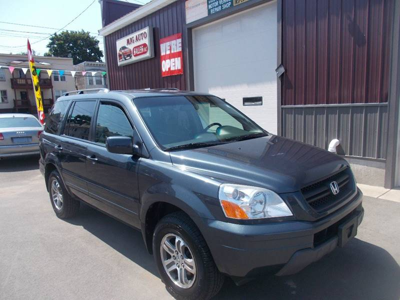 2004 Honda Pilot for sale at Mig Auto Sales Inc in Albany NY