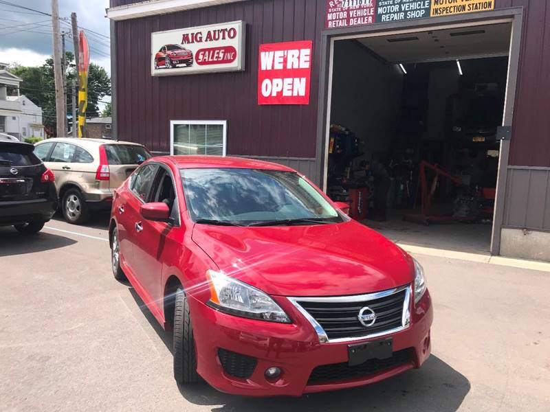 2013 Nissan Sentra For Sale At Mig Auto Sales Inc In Albany NY