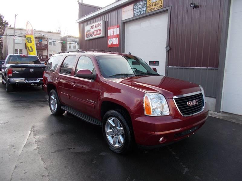 2009 GMC Yukon for sale at Mig Auto Sales Inc in Albany NY