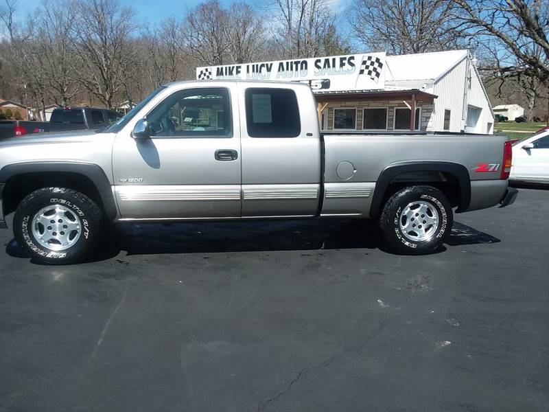 1999 Chevrolet Silverado 1500 For Sale At MIKE LUCY AUTO SALES In Ironton MO