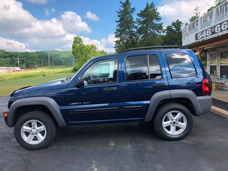 2002 Jeep Liberty For Sale At MIKE LUCY AUTO SALES In Ironton MO