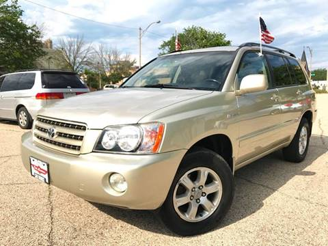 2001 Toyota Highlander for sale in Milwaukee, WI