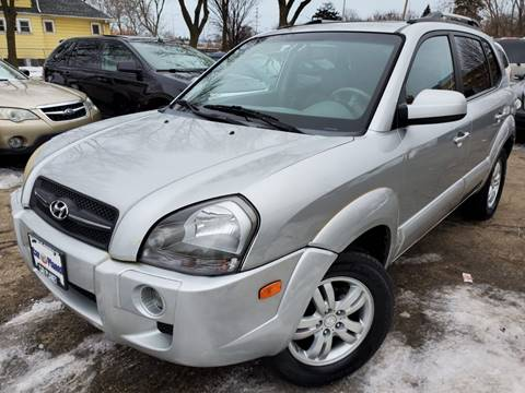 2007 Hyundai Tucson for sale at Car Planet Inc. in Milwaukee WI