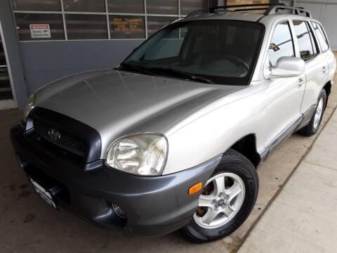 2002 Hyundai Santa Fe for sale at Car Planet Inc. in Milwaukee WI