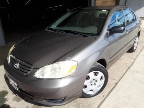2004 Toyota Corolla for sale at Car Planet Inc. in Milwaukee WI