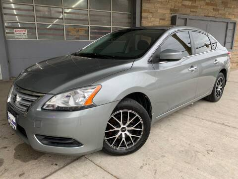 2014 Nissan Sentra for sale at Car Planet Inc. in Milwaukee WI