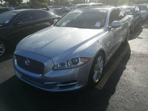 2011 Jaguar XJL for sale in Hialeah, FL