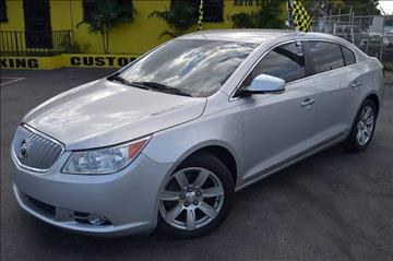 2011 Buick LaCrosse for sale at Autobahn Classics llc in Hialeah FL
