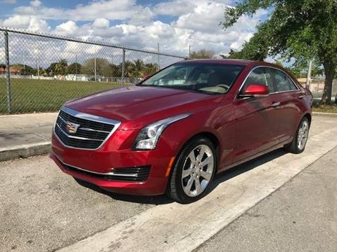 2016 Cadillac ATS for sale in Hialeah, FL