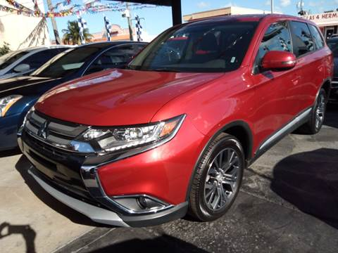 2018 Mitsubishi Outlander for sale in Hialeah, FL