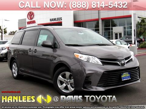 2020 Toyota Sienna for sale in Davis, CA