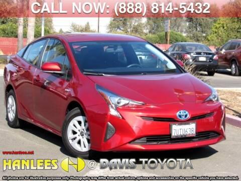 Toyota El Centro >> 2016 Toyota Prius For Sale In Davis Ca