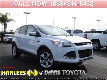 2016 Ford Escape for sale in Davis, CA