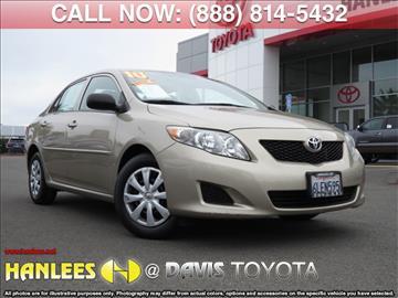 2010 Toyota Corolla for sale in Davis, CA