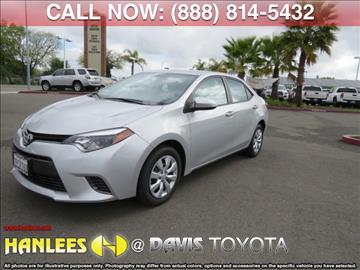 2016 Toyota Corolla for sale in Davis, CA