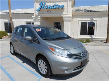 2015 Nissan Versa Note for sale in Lake Havasu City, AZ