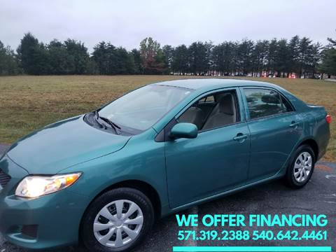 2010 Toyota Corolla for sale in Fredericksburg, VA