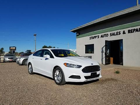 2016 Ford Fusion for sale in Garden City, KS