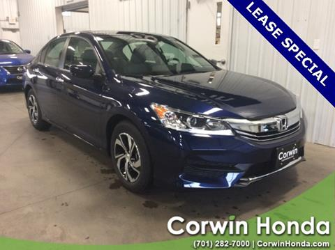 2017 Honda Accord for sale in Fargo, ND