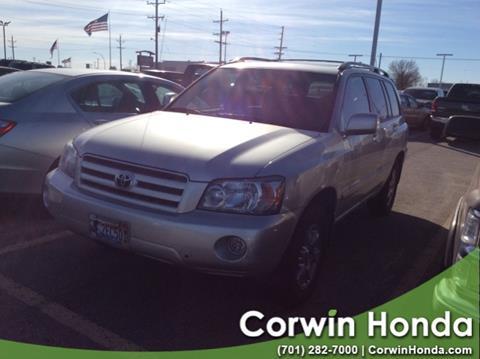 2007 Toyota Highlander for sale in Fargo, ND