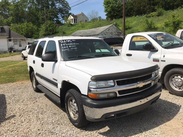2002 Chevrolet Tahoe LS 4WD 4dr SUV - Zanesville OH