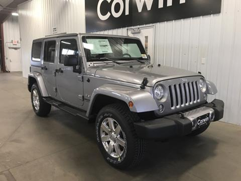 2017 Jeep Wrangler Unlimited for sale in Fargo, ND