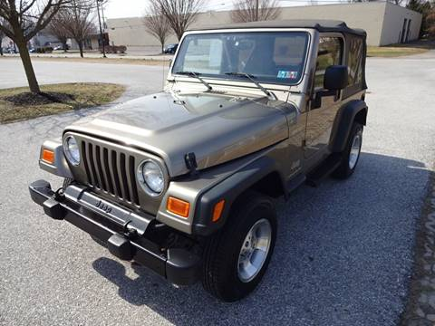 2003 Jeep Wrangler for sale in West Chester, PA
