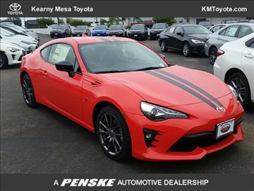 2017 Toyota 86 for sale in San Diego, CA