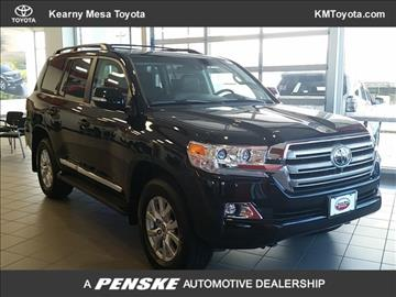 2016 Toyota Land Cruiser for sale in San Diego, CA