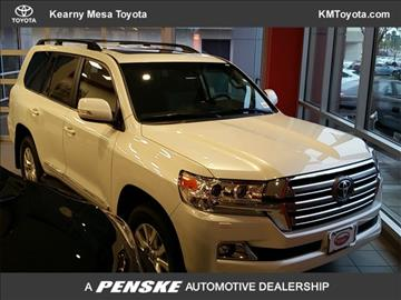 2017 Toyota Land Cruiser for sale in San Diego, CA