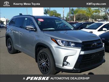 2017 Toyota Highlander for sale in San Diego, CA