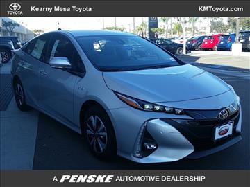 2017 Toyota Prius Prime for sale in San Diego, CA