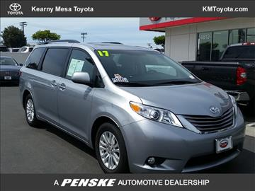2017 Toyota Sienna for sale in San Diego, CA