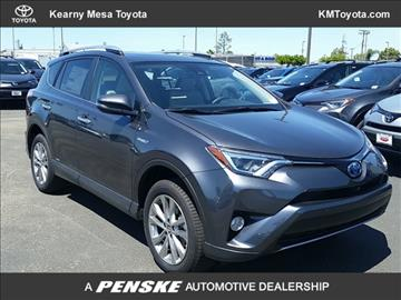 2017 Toyota RAV4 Hybrid for sale in San Diego, CA