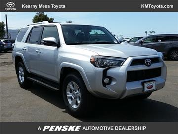 2017 Toyota 4Runner for sale in San Diego, CA